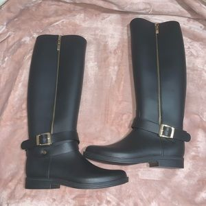 Dirty Laundry Reckless Black Rain Boots